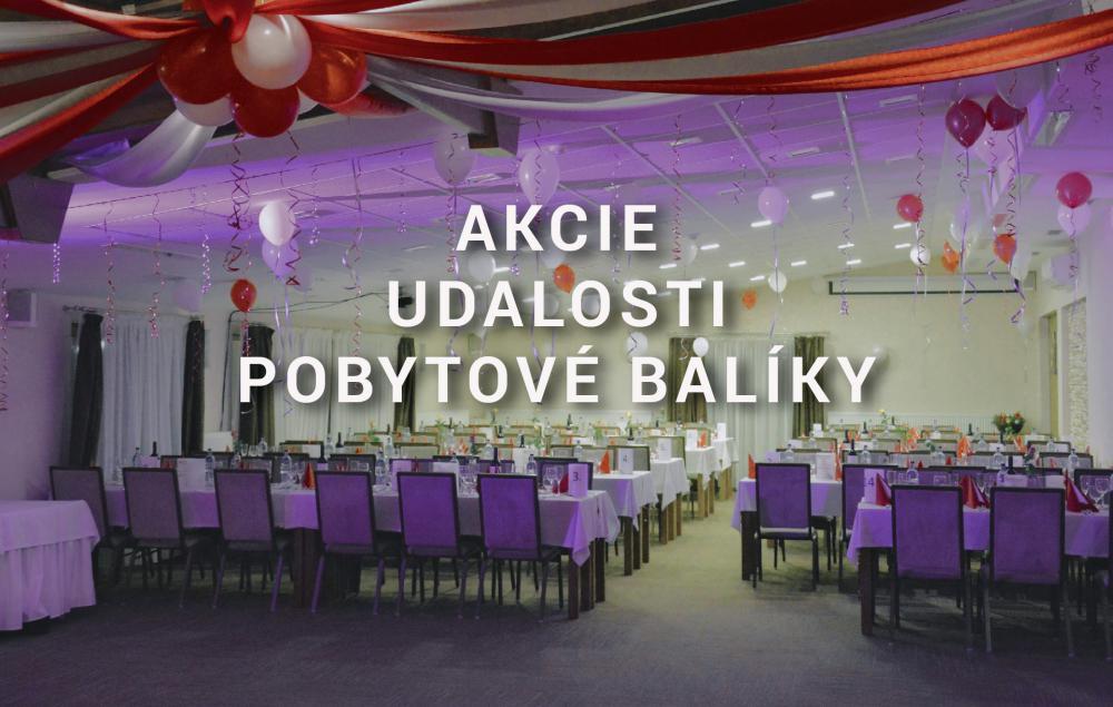 Pobytové balíky, akcie, udalosti, darčekové poukážky v Hoteli Bystrička