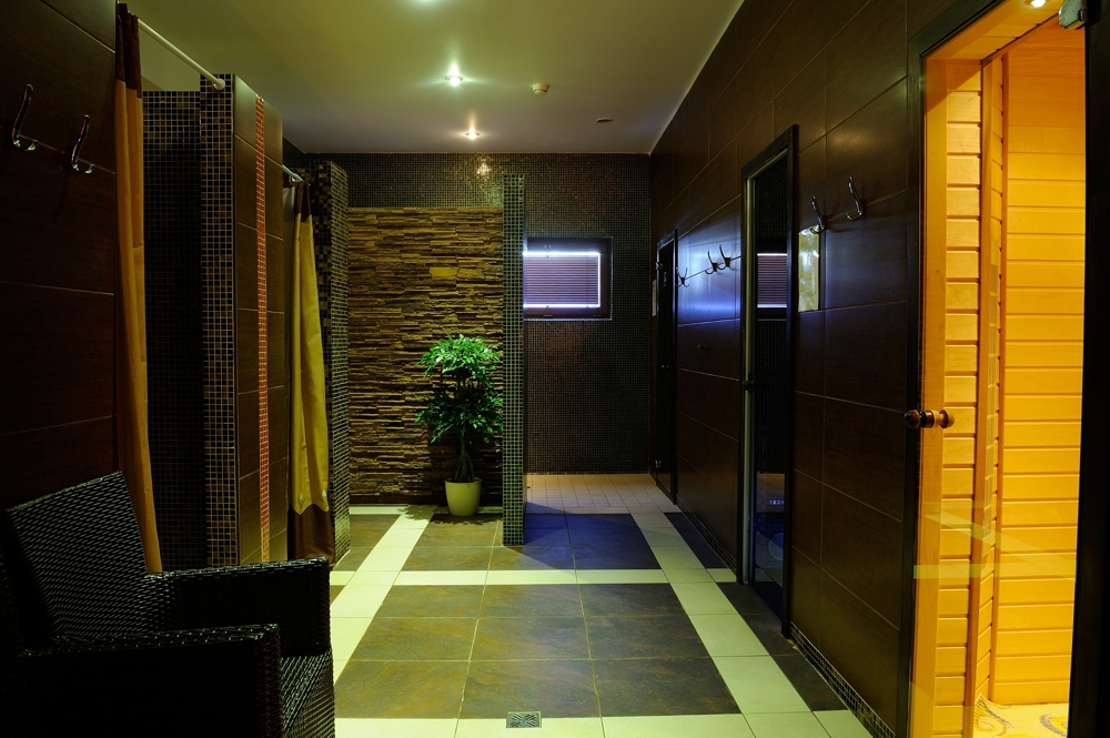 fínska sauna parná jacuzzi infra bylinková wellness hotel bystrička martin