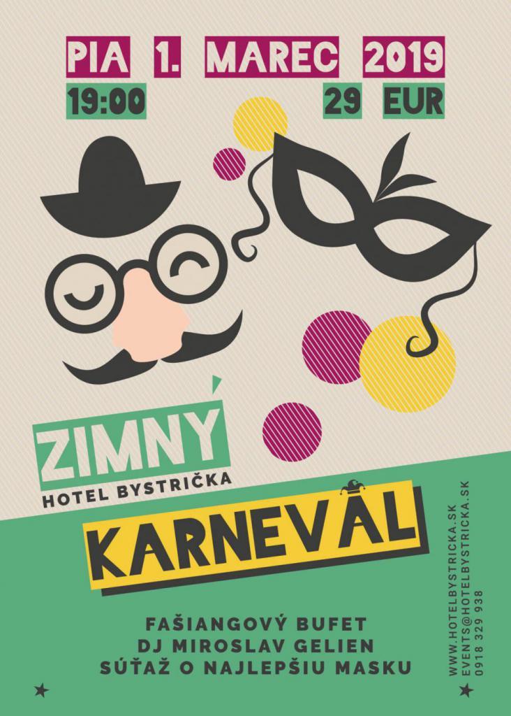 karneval martin hotel bystrička