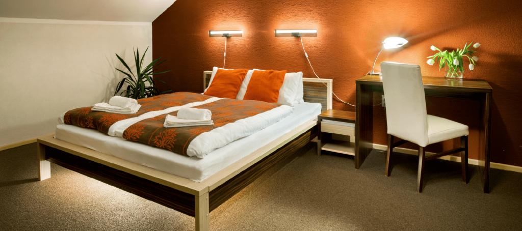 Suita spalna podkrovie hotel bystrička martin turiec
